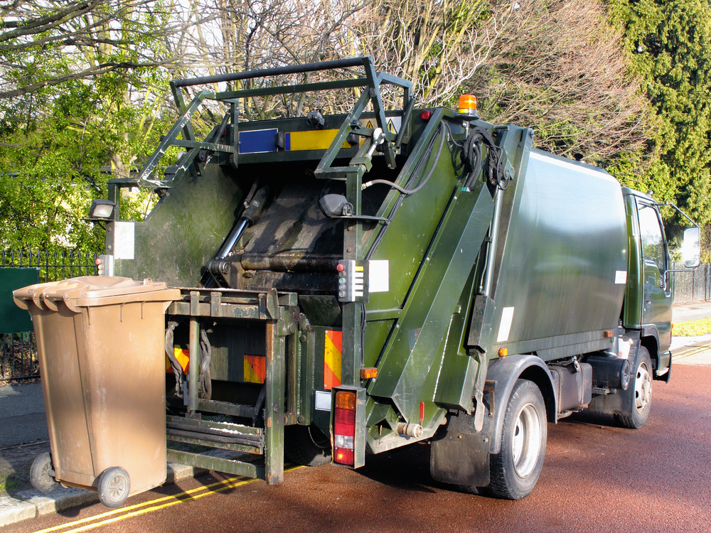 Bin Cleaning Vehicle
